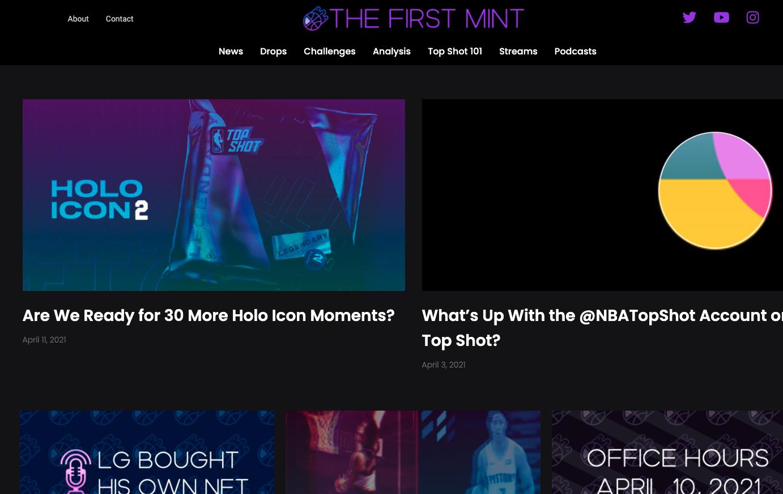 The First Mint screenshot